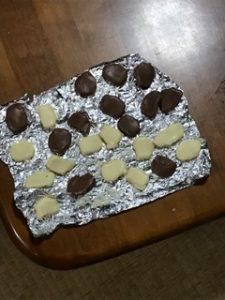 バレンタインデーの友チョコに焼きチョコ簡単レシピ|果たして味は?