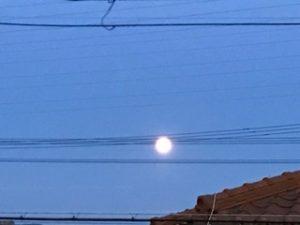 6月29日は 赤い月 ストロベリームーン&一年で一番小さい満月