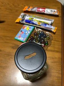 夏休みの宿題貯金箱低学年の作り方