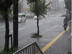 小学校大雨警報臨時休校