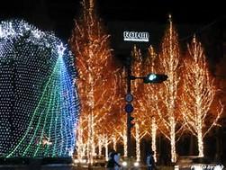 クリスマスイルミネーション2017関西のおススメスポット
