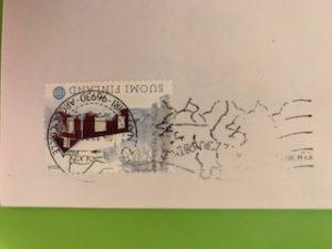 サンタクロースからの手紙が届きました