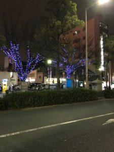 クリスマスイルミネーション大阪堺