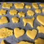 バレンタイン用友チョコプレーンクッキー簡単レシピ|小学生でも作れました