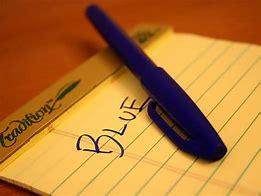 暗記覚えやすい色青