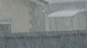 私立中学校大雨警報大雨警報
