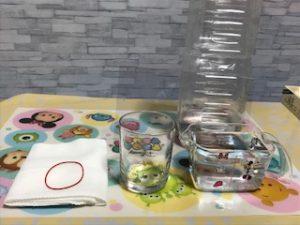 小学生夏休み自由研究水がこぼれないコップの実験