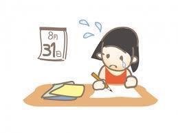 私立中学生夏休みの宿題進捗状況