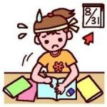 小学生の夏休みの宿題は家族全員で大騒ぎ|中学受験生の8月25日